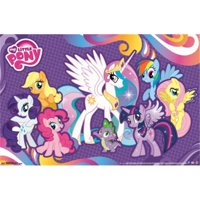 Posterazzi TIARP13640 My Little Pony - Friends Poster Print - 24 x 36 in.