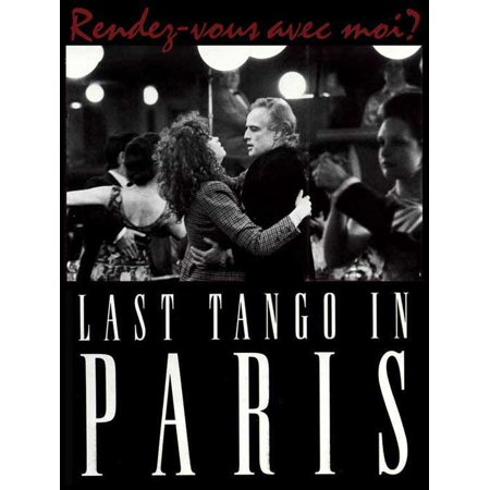 Tango Lily Halloween (Last Tango In Paris POSTER Movie D Mini)