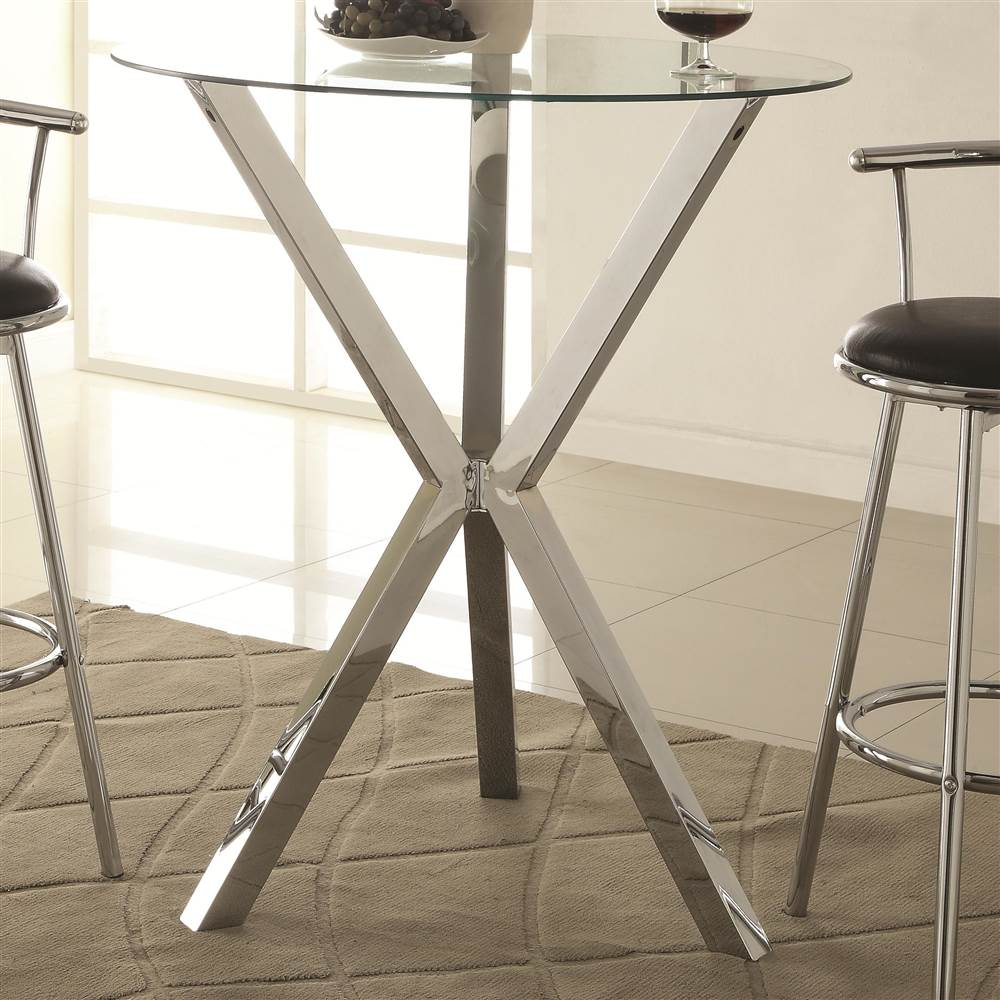 Glass Pub Table Part - 29: Walmart.com