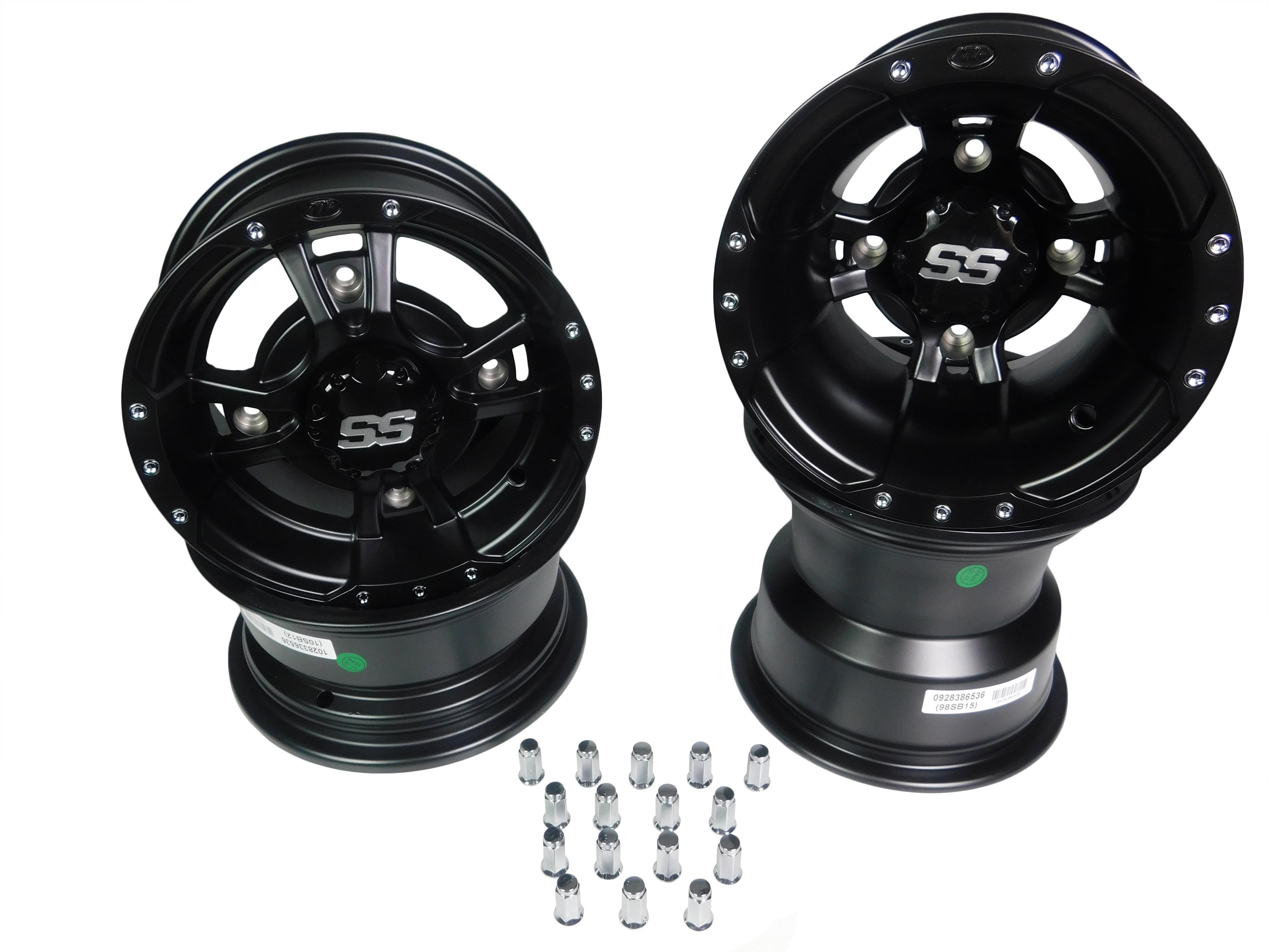 New! ITP 9 x 8 SS112 Aluminum Alloy Sport Rim Wheel
