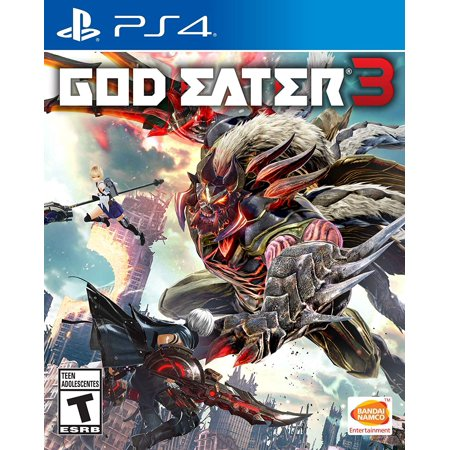God Eater 3, Namco, PlayStation 4, 722674121705