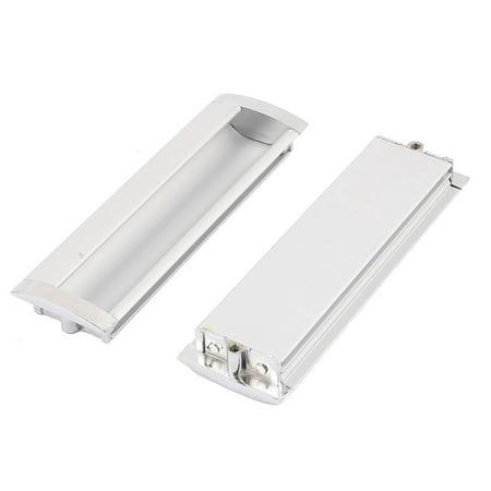 Sliding Door Flush Pull (128mm Mounting Rectangular Recessed Flush Pulls Drawer Sliding Door Handle)