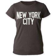 Women's: New York City Apparel Womens T-Shirts - Black
