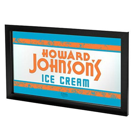 (Howard Johnson Ice Cream Framed Logo Mirror)
