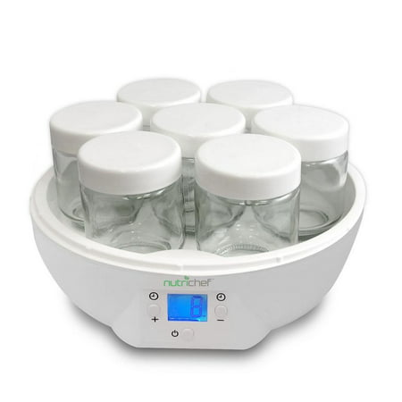 Nutrichef Electronic Yogurt Maker