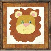 Forest Creations Magnet Art Print Lion Framed Art