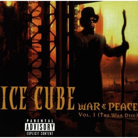 Vol. 1-War & Peace (CD) (Ice Cube War & Peace Vol 2)