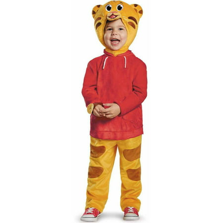 Daniel Tiger Deluxe Toddler Halloween Costume](Yo Gabba Gabba Toddler Costume)