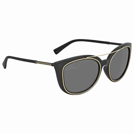 c0ca8d992df Versace - Versace Grey Cat Eye Sunglasses VE4336 GB1 87 56 - Walmart.com