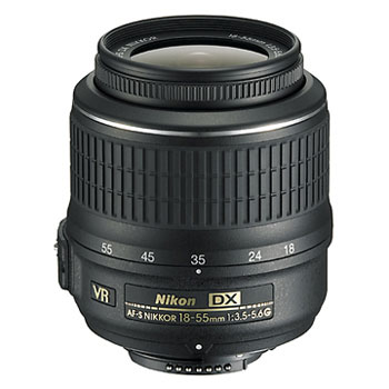 Nikon 18-55mm f/3.5-5.6G ED II AF-S DX Zoom Lens F/DSLR Cameras - Imported Version