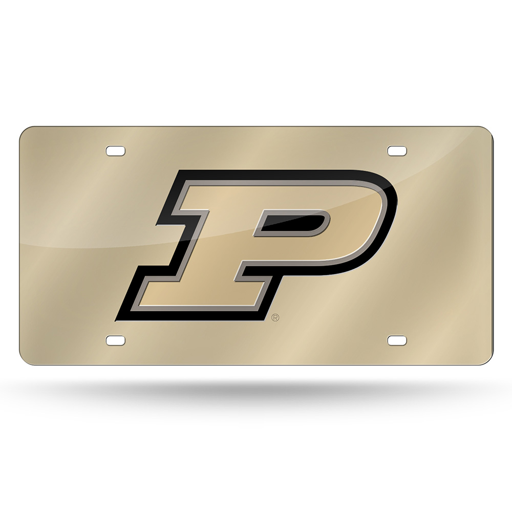 Purdue Boilermakers NCAA Laser Cut License Plate Tag