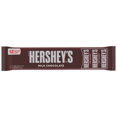 Hershey Mini Chocolate Bars Nutrition Facts