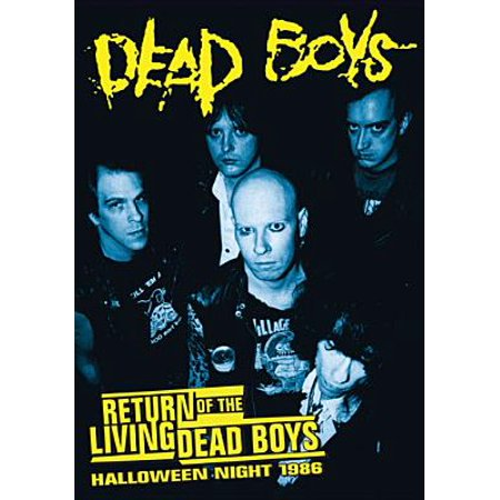 Dead Boys: Return Of The Living Dead Boys Halloween Night 1986 (DVD) - Halloween Night Club London 2017