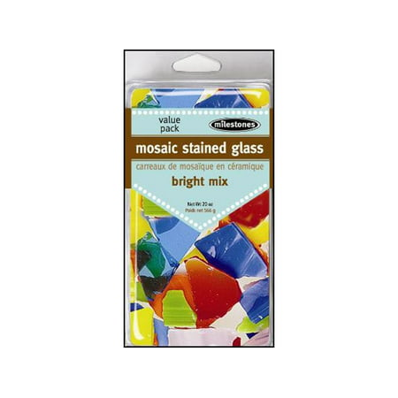 Milestones Deco VP Mosaic Stained Glass Bright