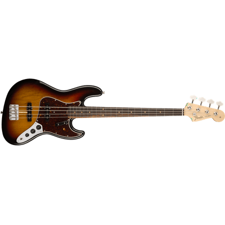 Fender American Original '60s Jazz Bass in 3 Color Sunburst with Hard Case