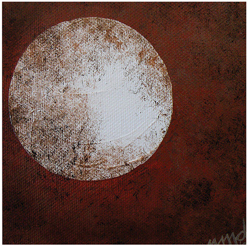 "Trademark Art ""Moon"" Canvas Art by Nicole Dietz"