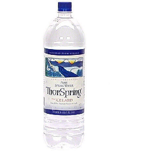 Iceland Spring Natural Spring Water, 50.7 oz (Pack of 12) by Generic
