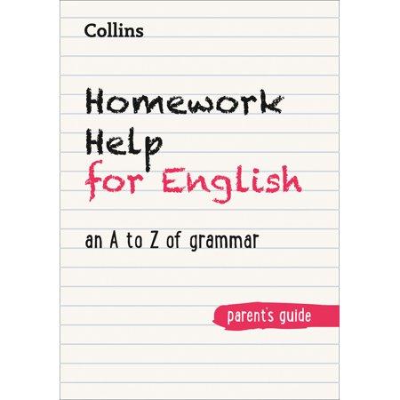 Homework help grammar