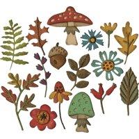 Sizzix Thinlits Dies By Tim Holtz 20/Pkg-Funky Foliage