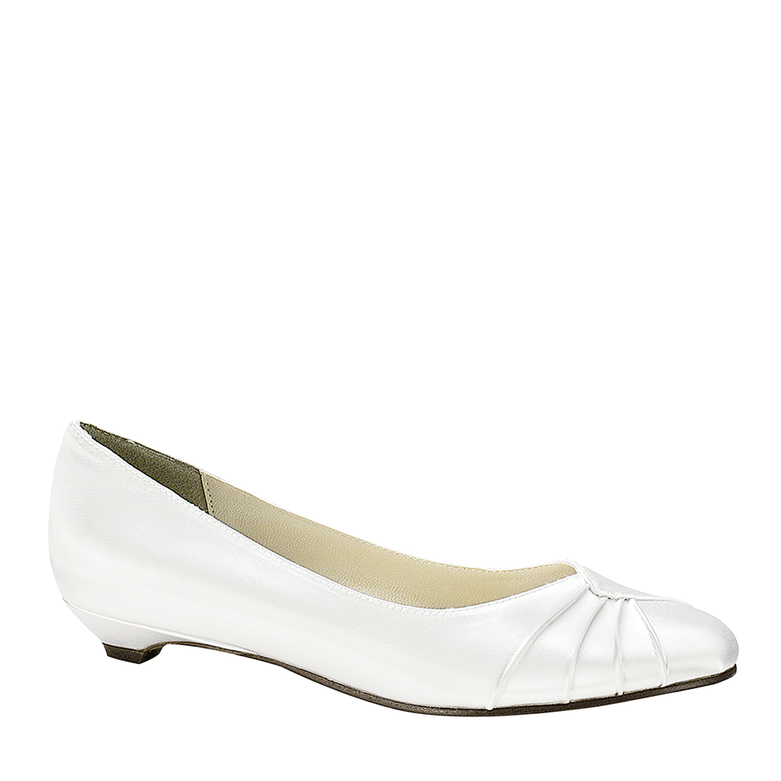 Touch Ups Womens Shirley Pump,White,8.5 W