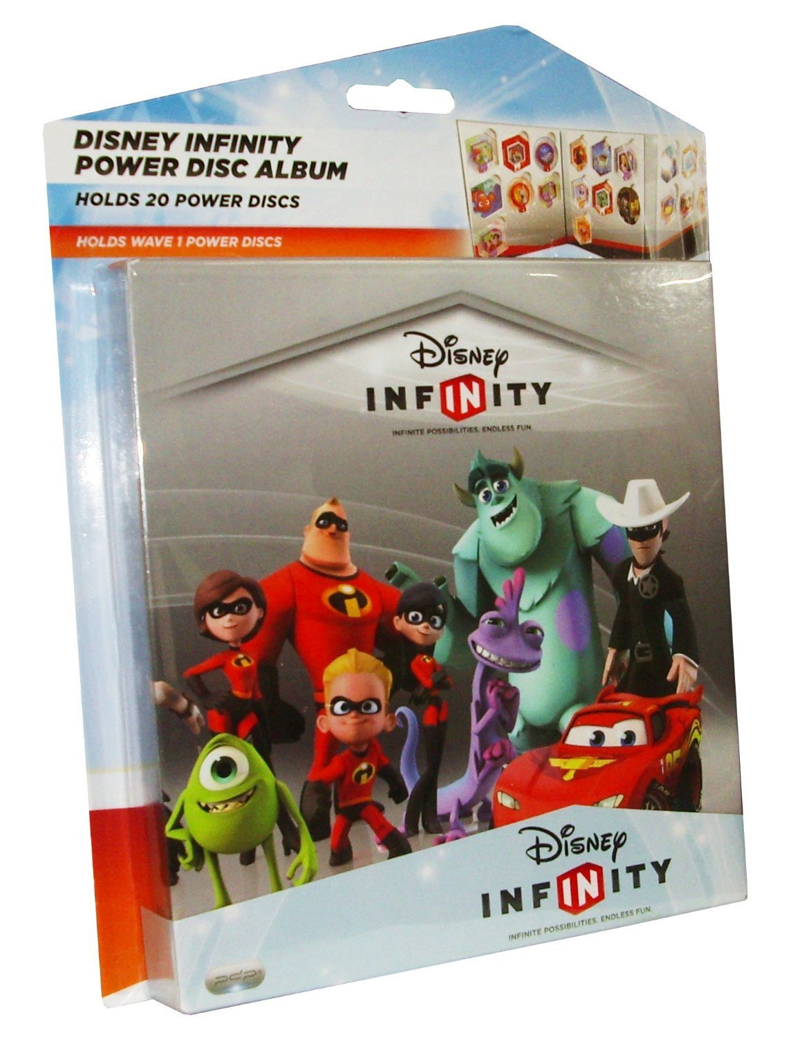 PDP Disney Infinity Power Disc Album for Wii Playstation Xbox by PDP