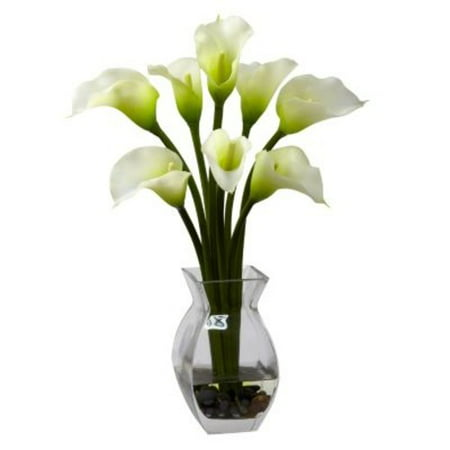 Nearly Natural Calla Lily - Nearly Natural Classic Calla Lily Silk Flower