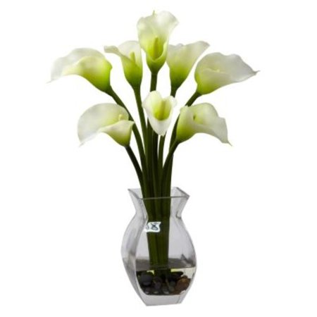 Nearly Natural Classic Calla Lily Silk Flower Cala Lilies Calla Lily Flower