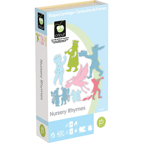 NURSERY RHYMES New Cricut Expression Create Personal Cutter Machine Cartridge