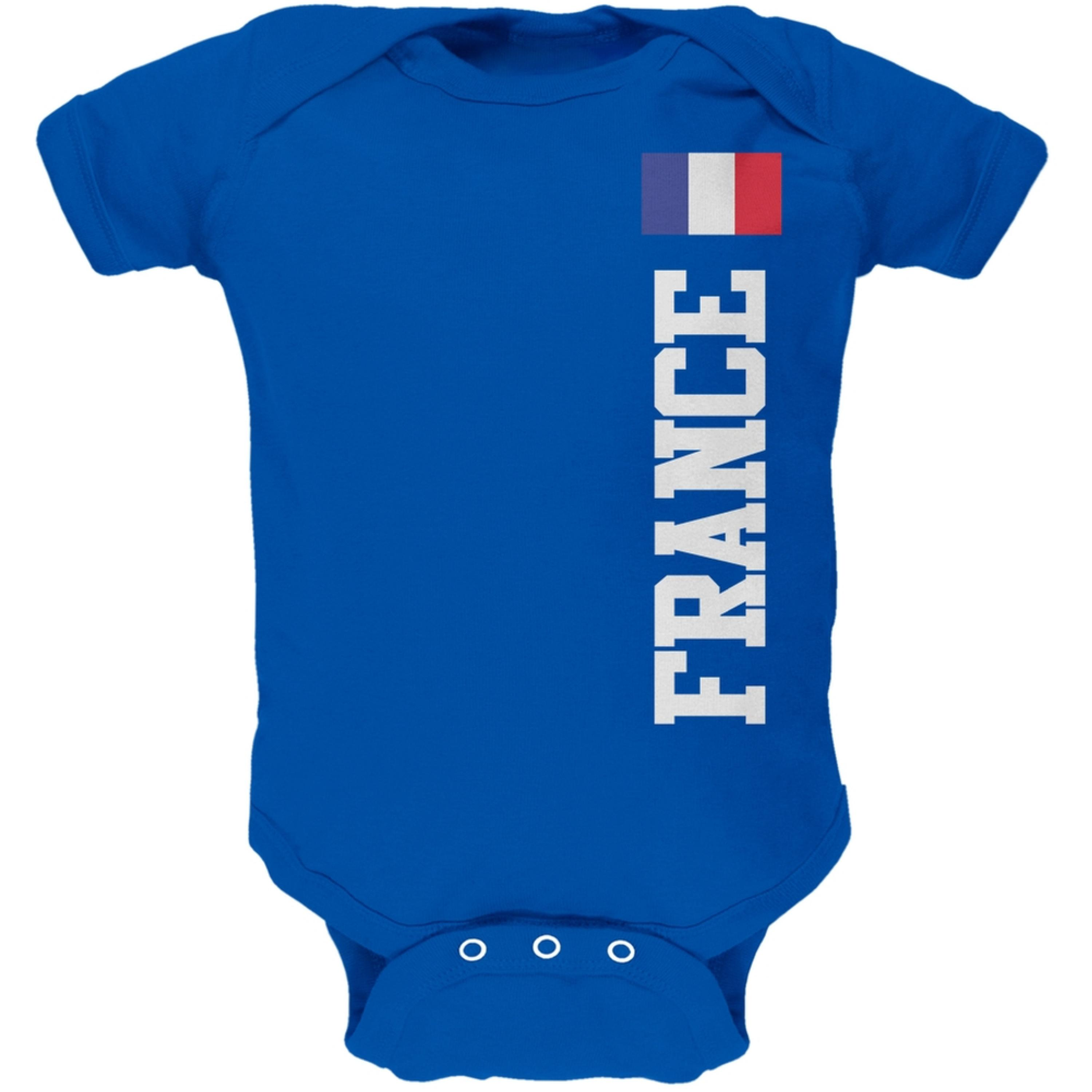 World Cup France Blue Baby One Piece
