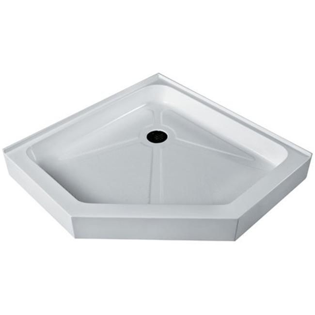 Vigo VG06069WHT36 36'' x 36'' Neo-Angle Shower Tray White