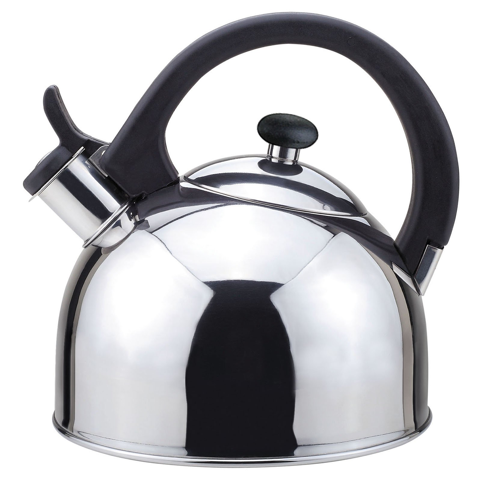 Nubia 2 Qts. Stainless Steel Stovetop Tea Kettle with Whistle with