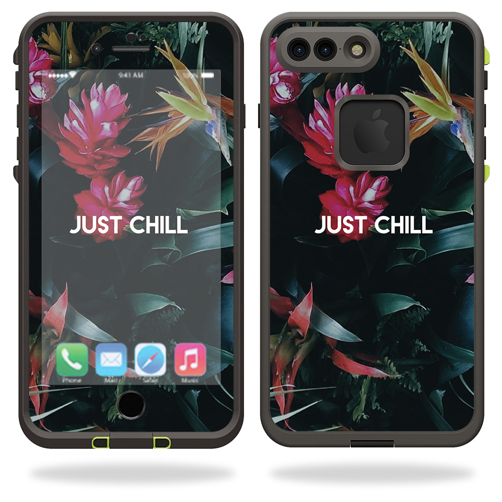 Skin For Lifeproof iPhone 7 Plus Fre Case – Just Chill | MightySkins Protective, Durable, and Unique Vinyl Decal wrap cover | Easy To Apply, Remove, and Change Styles | Made in the USA