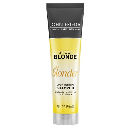 John Frieda Sheer Blonde Go Blonder Lightening Shampoo, 8.3 (Best Purple Shampoo For Blonde Color Treated Hair)