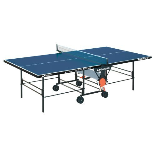 Butterfly Outdoor Blue Playback Table Tennis Table
