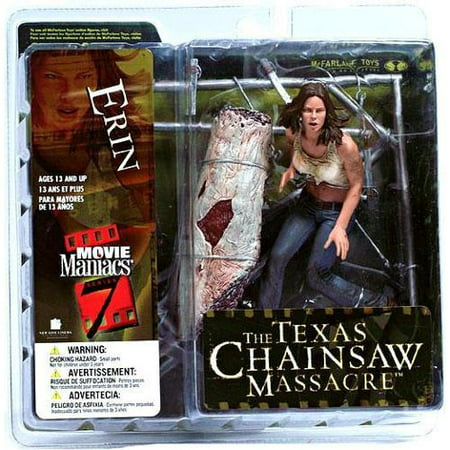 Mcfarlane Toys Movie Maniacs Series 7 Action Figure Texas Chainsaw Massacre Erin