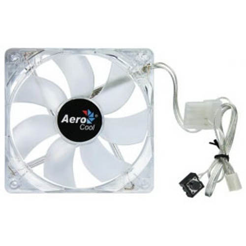 AeroCool EN55284 Lightwave 120mm PC Computer Case Fan w/ Blue LED Lighting