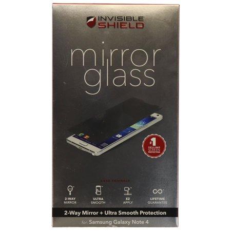 ZAGG InvisibleShield Mirror Glass Screen Protector for Samsung Galaxy Note 4 ()