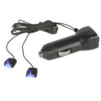 Autodrive Super-Bright Blue LED Micro Lights - 2 Pack