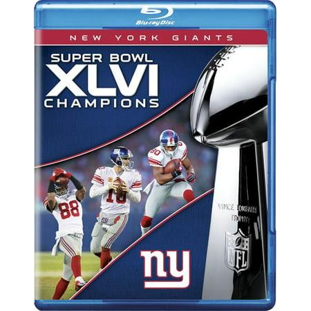 Nfl Super Bowl Xlvi  2011 New York Giants  Blu Ray