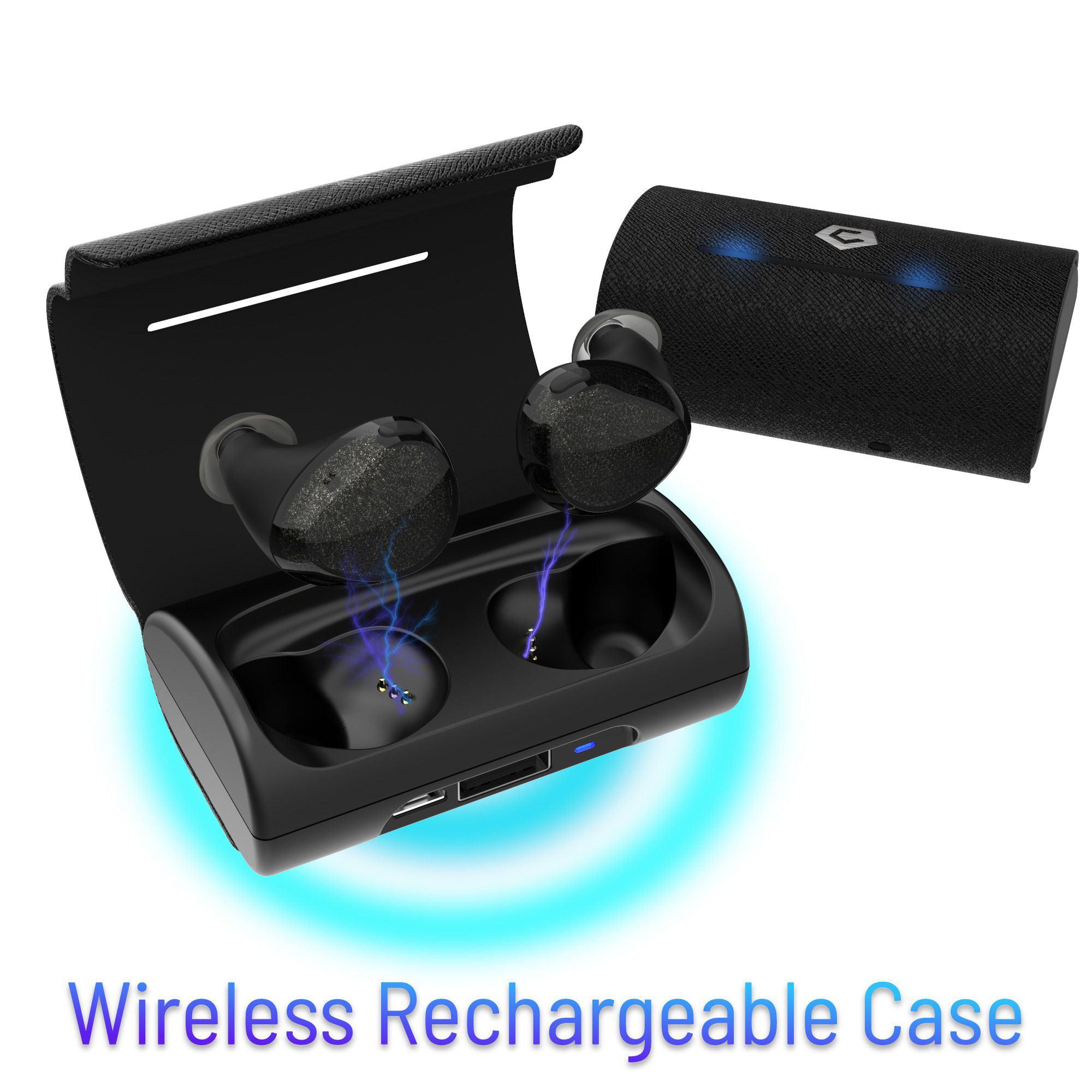 20cffd02083 Cobble Pro Universal True Wireless Earbuds Bluetooth 5.0 In-ear Earphones  w/ Mic & Charging Case for Running Workout - Walmart.com
