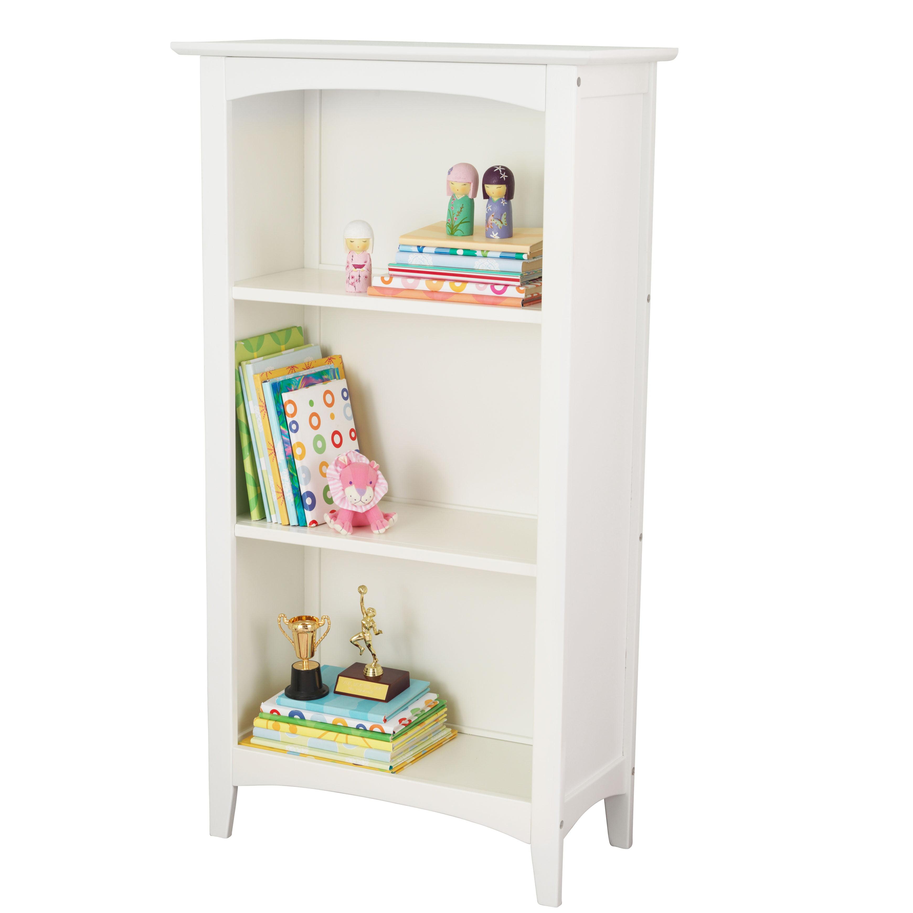 KidKraft Avalon Three-Shelf Bookcase White by KidKraft