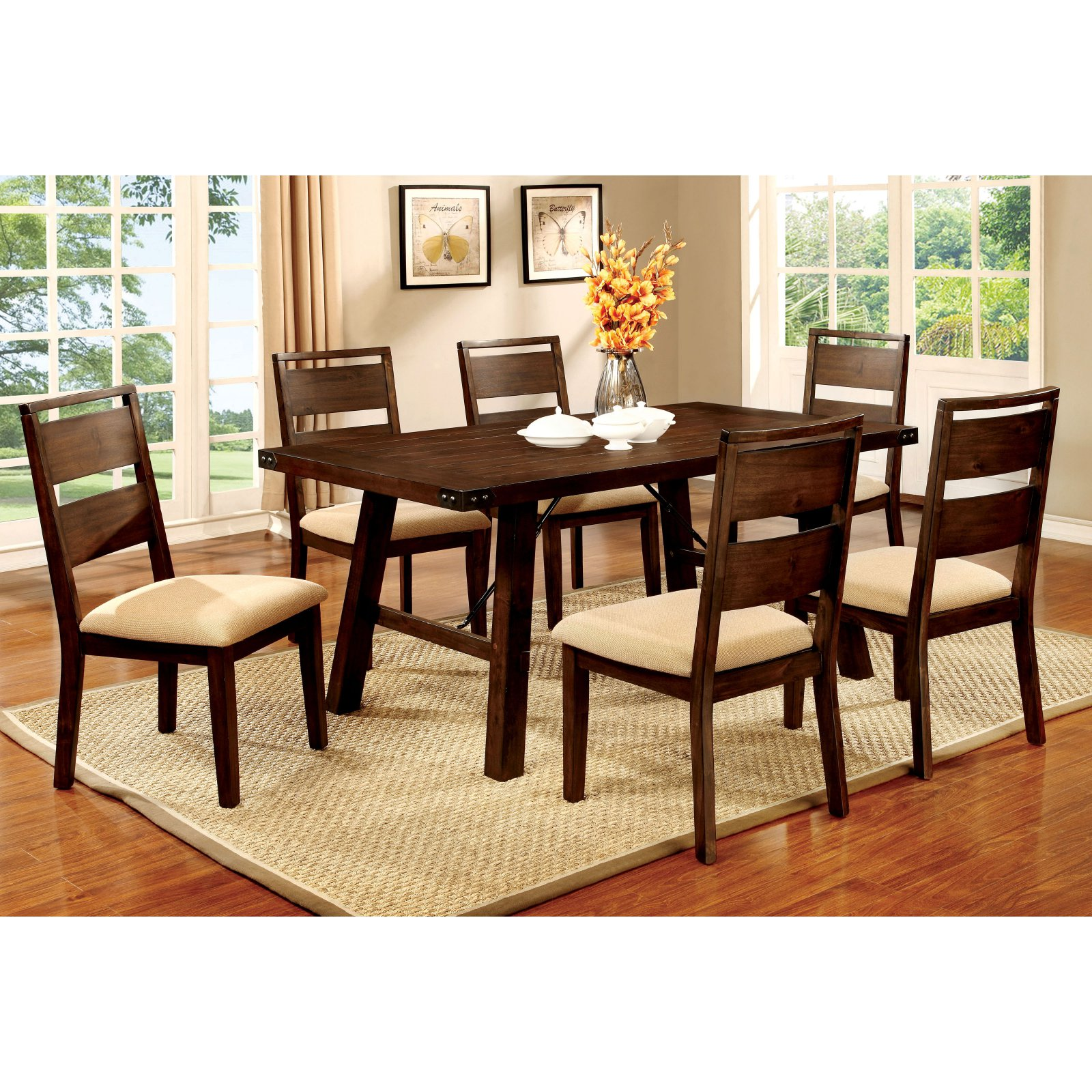 Furniture of America Hockenberry Dining Table