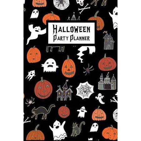 Halloween Party Planner: Plan & Budget Your Theme, Guests, Activities, Food, Treats, Drink, Decorations, Crafts Paperback Halloween Party Planner: Plan & Budget Your Theme, Guests, Activities, Food, Treats, Drink, Decorations, Crafts Height : 0.10 In Length : 9.02 In Width : 5.98 In Weight : 0.17 lbs