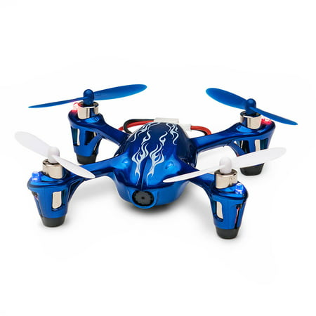 Take Offer Hubsan X4 H107C 2.4GHz 4-Channel RC Quadcopter Flying Drone with HD 2MP Camera RTF, Royal Blue Before Special Offer Ends