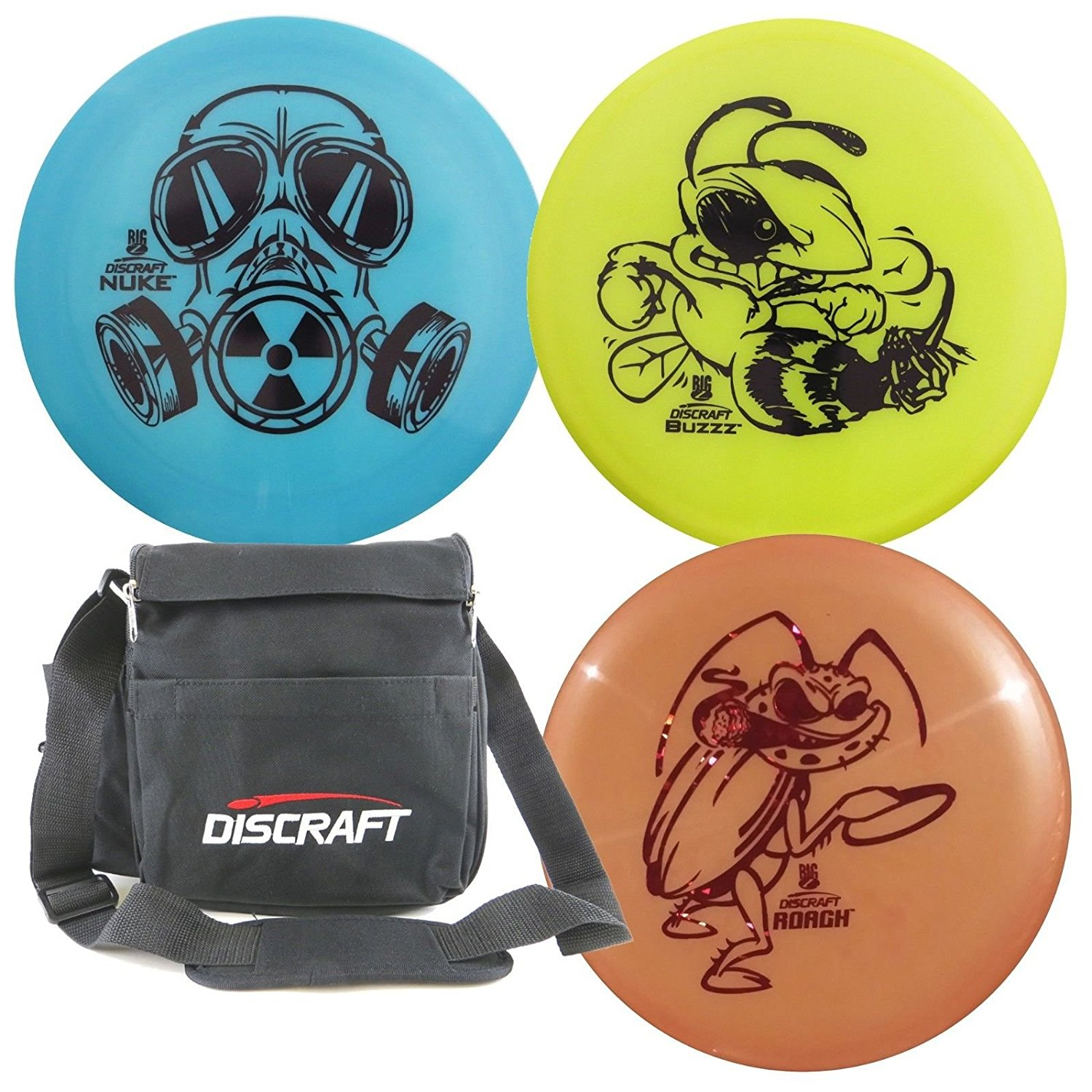 Discraft Disc Golf Big Z Starter Package by