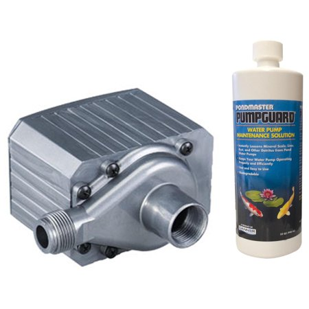 PONDMASTER Supreme Model 9.5 950 GPH Mag Drive Pond Pump w/ Solution | (Pondmaster Pumps Models)