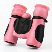 8X21 children's binoculars children outdoor binoculars pink