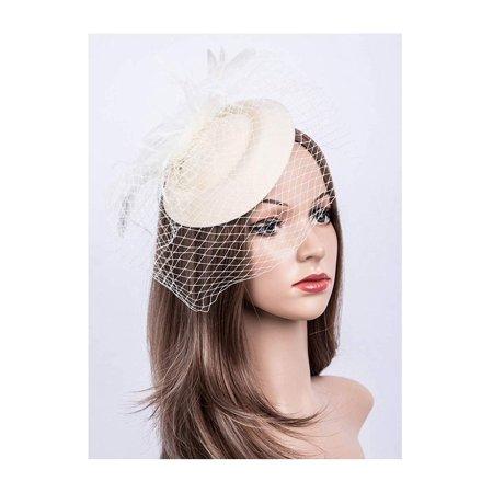 Cizoe Fascinators Hats 20s 50s Pillbox Cocktail Tea Party Headwear New