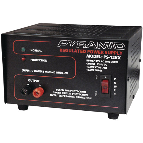 Pyramid PS12KX Power Supply (10A/13.8V)