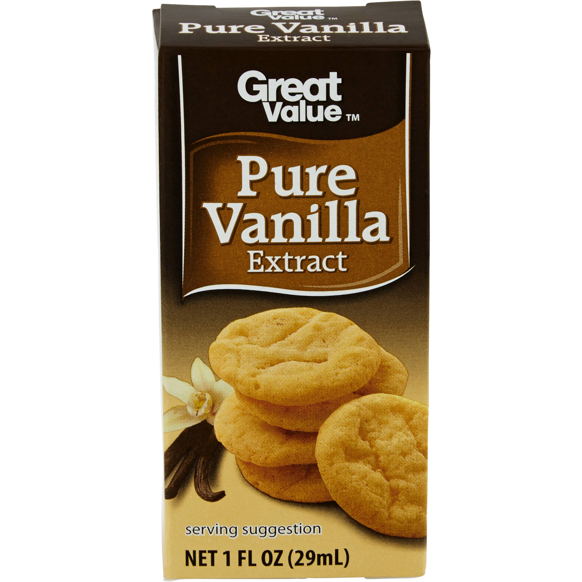 Great Value Pure Vanilla Extract, 1 fl oz